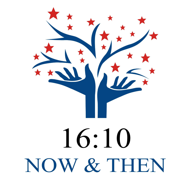 1610 Now & Then Logo